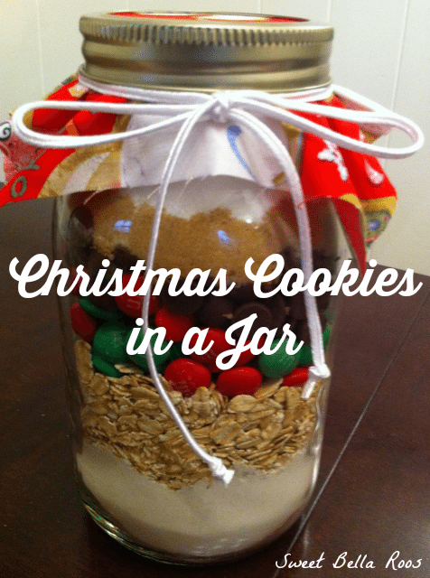 christmas cookies in a jar grace and good eats