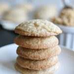 These Brown Sugar Cookies taste like your favorite chocolate chip cookies without the chocolate chips. These cookies have the perfect crispy edges with a soft and chewy center.