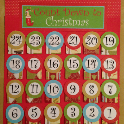 Free Advent Calendar Printable