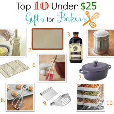 Top 10 Gifts for Bakers Under $25