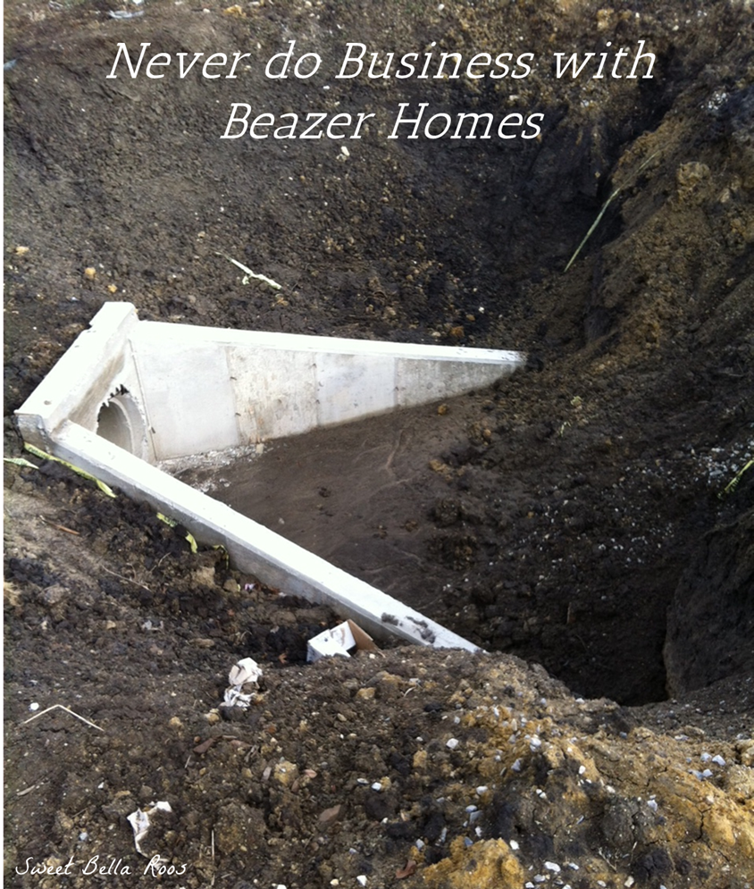 Amazing Never Do Business With Beazer Homes
