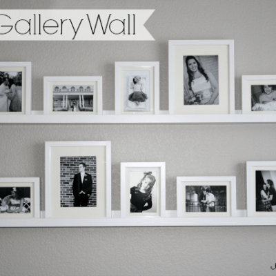 DIY Photo Gallery Wall