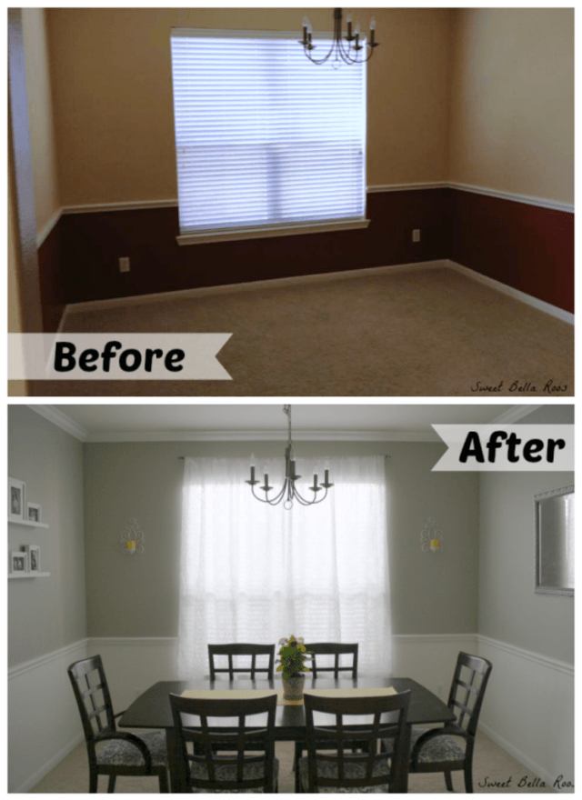Dining Room Makeover Before Amp After Grace And Good Eats