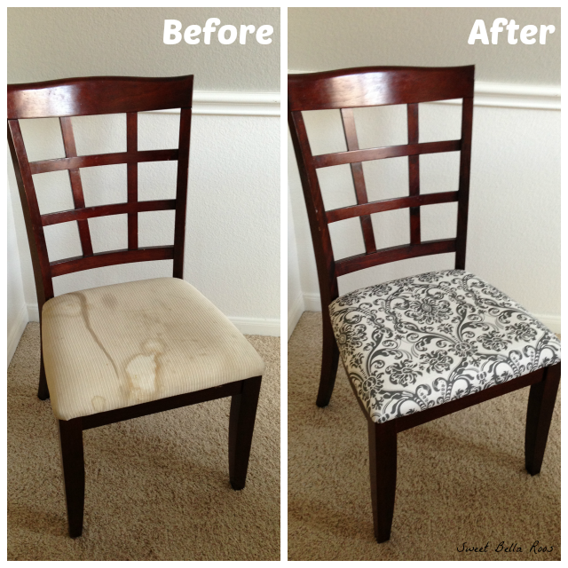 Dining Room Makeover- Before & After