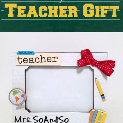 Quick & Easy Teacher Gift