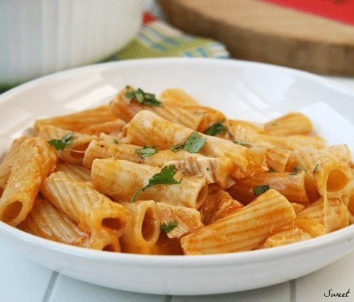 four ingredient chicken rigatoni grace and good eats