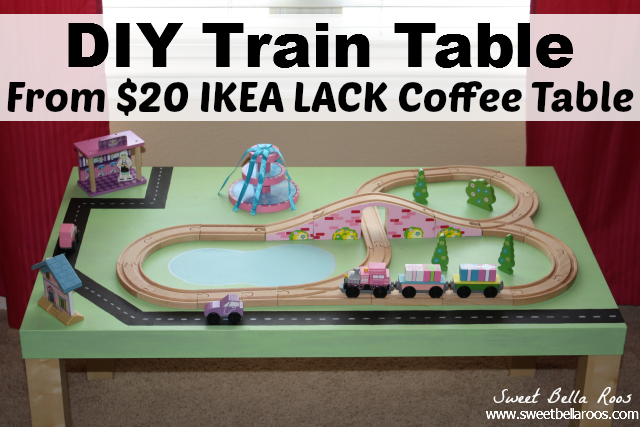 DIY Train Table: IKEA Hack - Grace and Good Eats