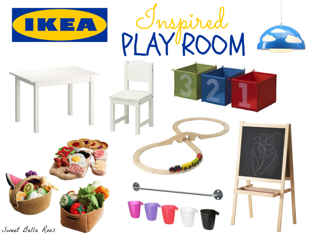 Great ideas for creating the perfect IKEA inspired play room!