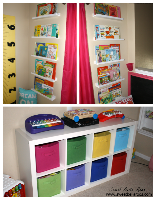 Storage ideas for a play room