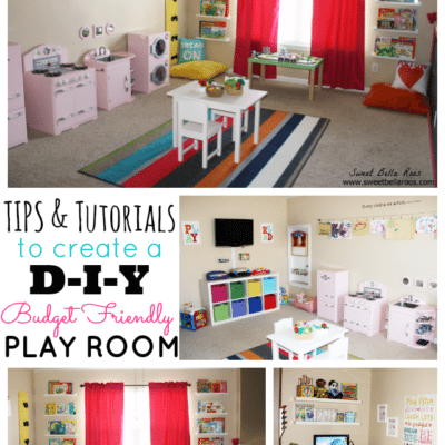 Tips & Tutorials to Create a DIY Budget Friendly Play Room