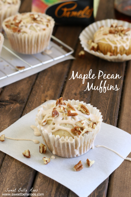 Maple Pecan Muffins- so delicious and gluten free! #recipe #glutenfree