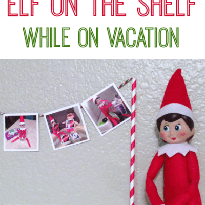 Elf on the Shelf While on Vacation