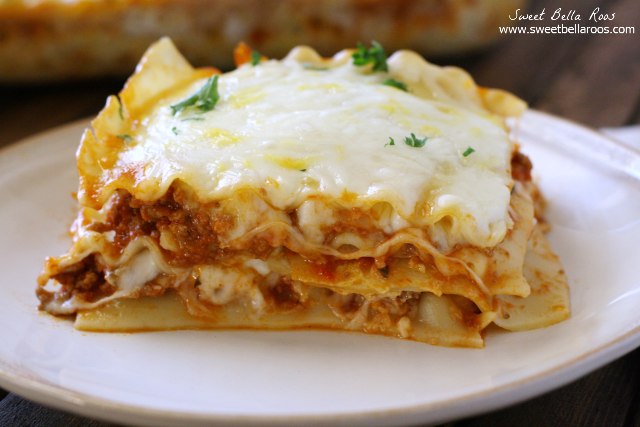 Creamy lasagna without ricotta cheese for Different kinds of lasagna recipes