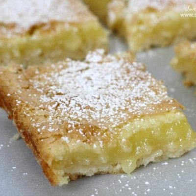 So Easy Lemon Bars