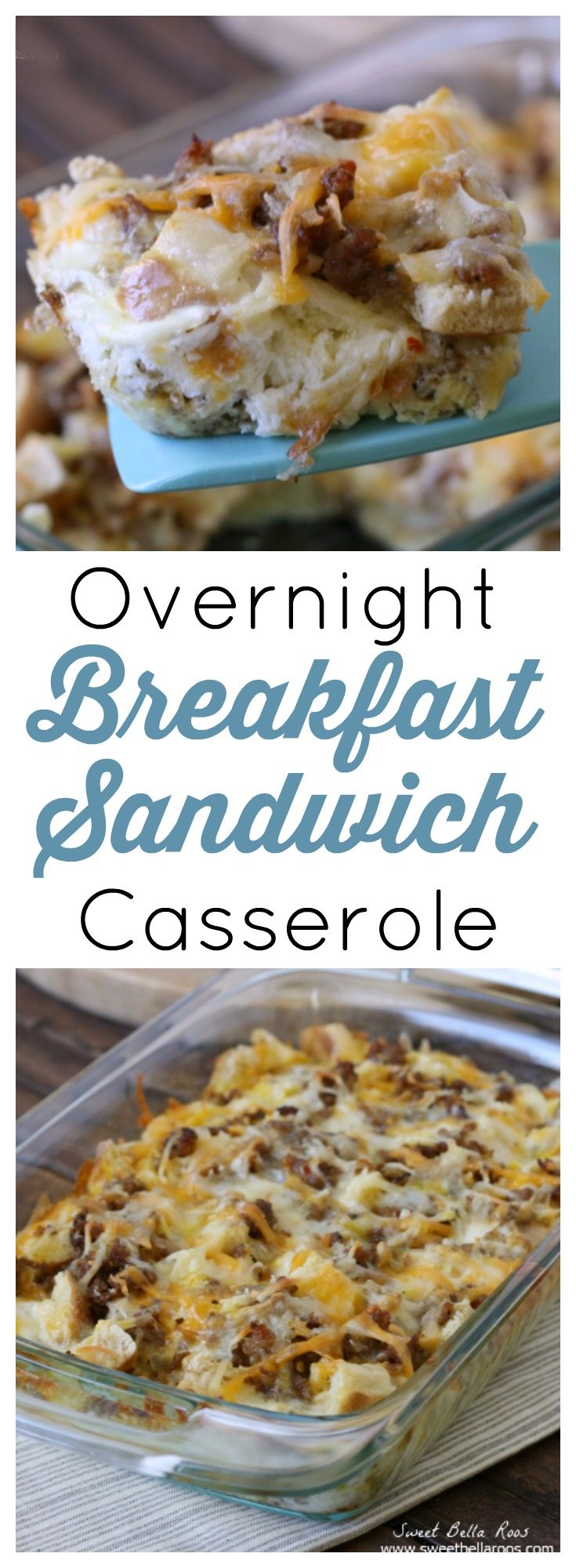 All the yummy ingredients of a sausage breakfast sandwich but even easier to make. Love to make this and top with salsa- so good!