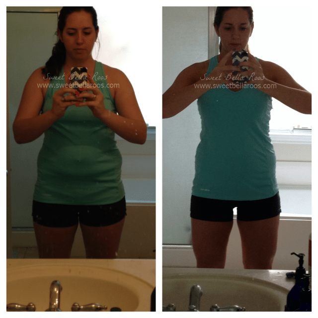 My 7 weeks before and after pictures: eating right, running, lifting, and working hard! #fitness