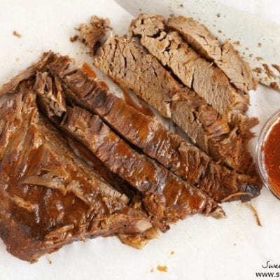 Crock Pot Tomato Braised Brisket