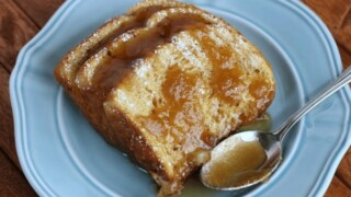 Overnight Caramel French Toast