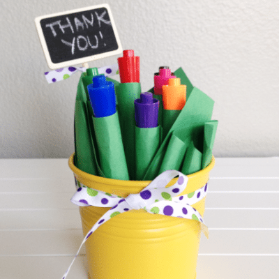 Teacher Appreciation Gift: Marker Bouquet
