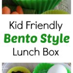 Easy Bento lunch ideas with hardboiled eggs, fruit, veggies, and trail mix. Turn hardboiled eggs into cute chicks in this kid-friendly bento lunchbox.