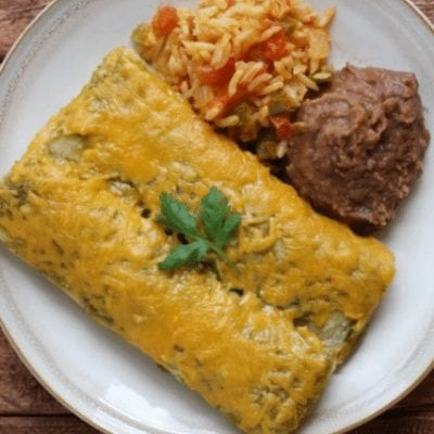 Best Ever Chicken Enchiladas