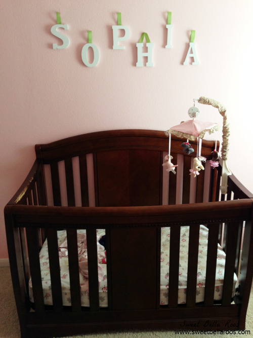 Transition from nursery to toddler room
