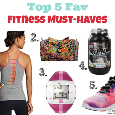 Top 5 Fav Fitness Must-Haves