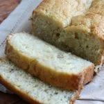 sliced buttermilk banana bread