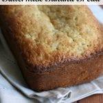 loaf of buttermilk banana bread