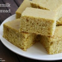 This Buttermilk Cornbread is perfect for soup or chili. I never realized cornbread was this easy!