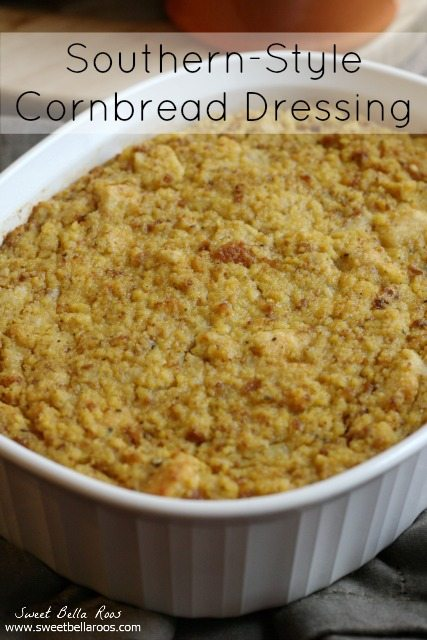 My grandmother's Southern-Style Cornbread Dressing is one of my favorite Thanksgiving traditions. Make this dressing recipe and you won't be disappointed!