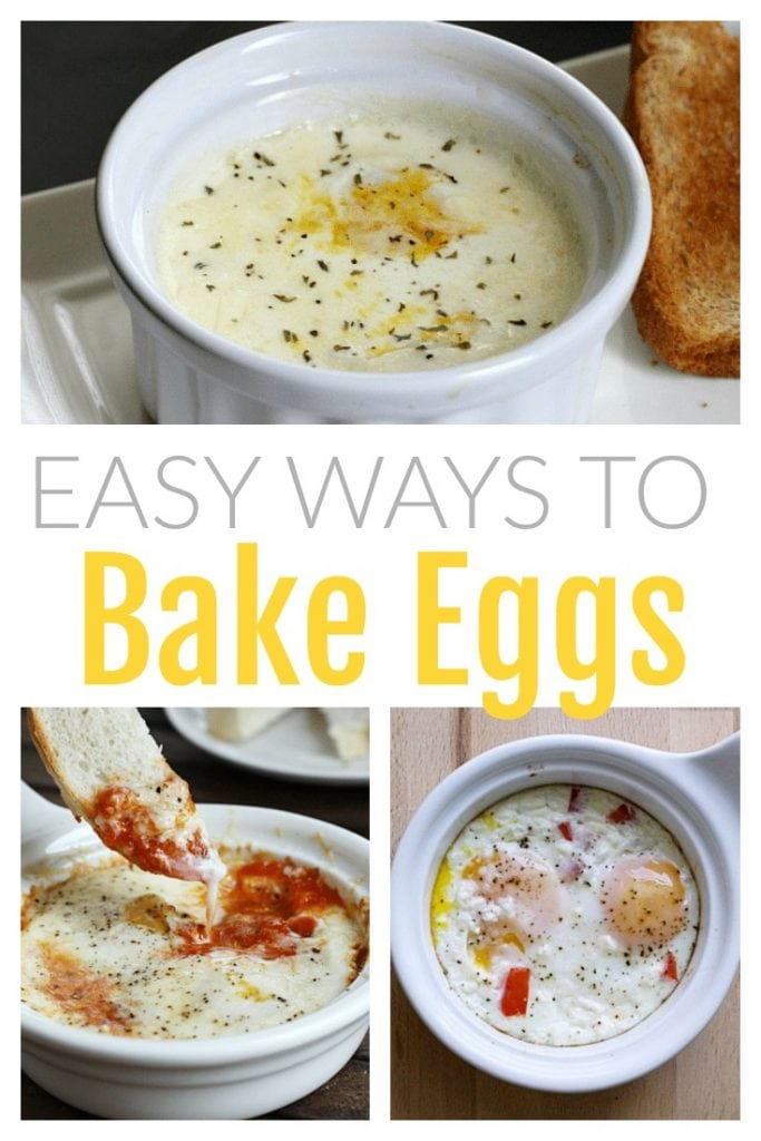These creamy baked eggs are protein packed, super nutritious, and so versatile.  Baked eggs are hands-off and easy to prepare- perfect for busy mornings.