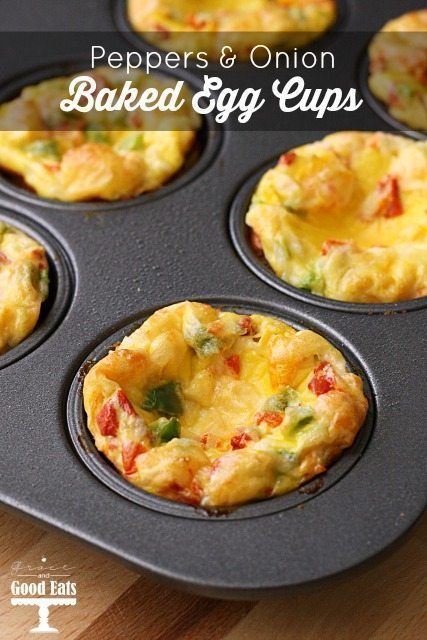 egg cups in a muffin tin