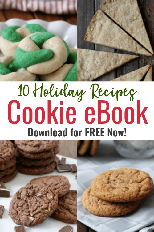 wreath cookies, shortbread cookies, chai spiced cookies, mint cookies holiday cookies