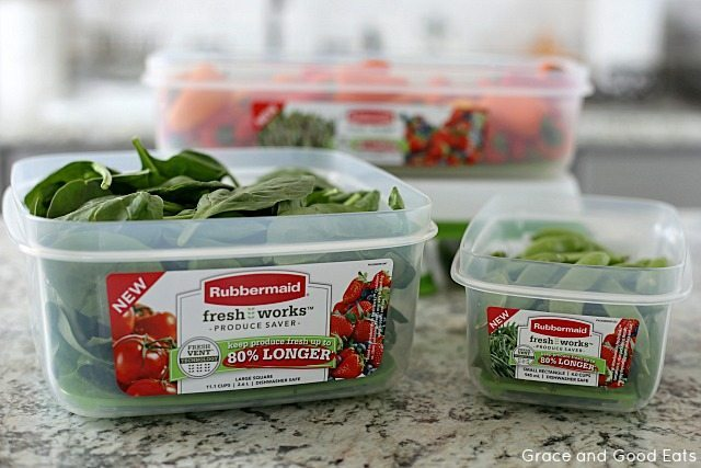 Rubbermaid FreshWorks New Containers