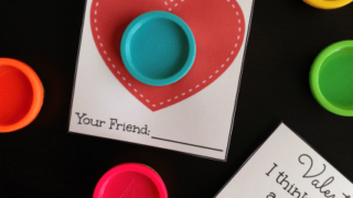 """""""Valentine, I think you are a'doh'able"""" Free Printable #valentine"""
