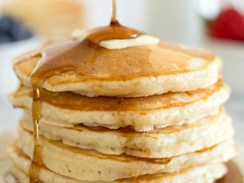Best Ever Homemade Pancakes Recipe Grace And Good Eats
