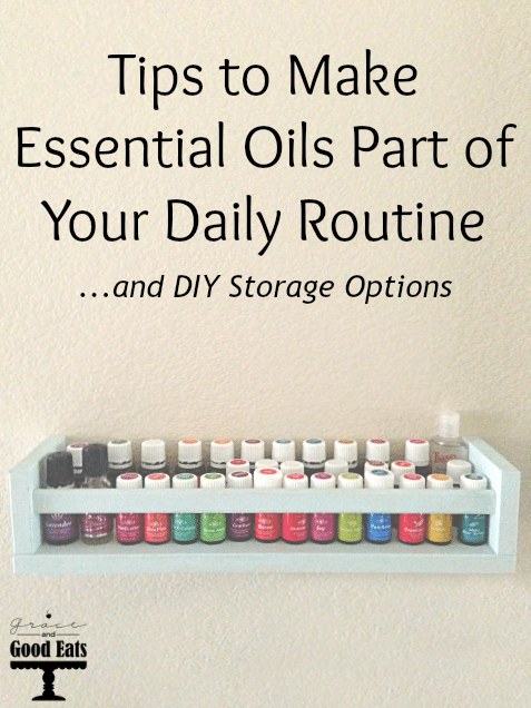 I have my essential oils, now what? Tips on how to begin using them in your daily routine