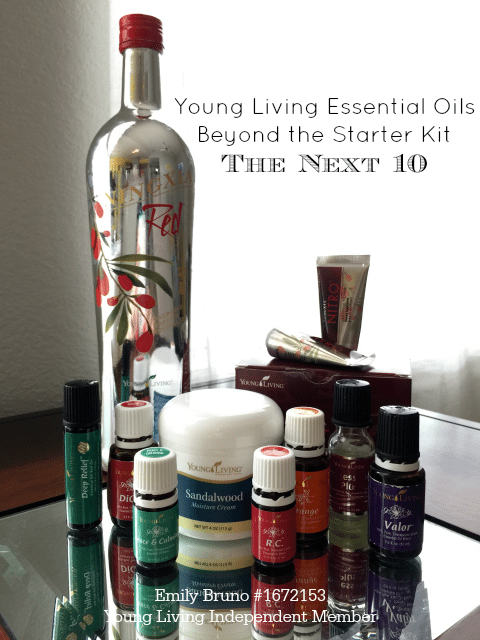 Young Living Essential Oils Beyond the Starter Kit: the next 10 oils I purchased #YoungLiving #EssentialOils