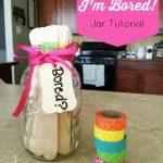 "Thirty Ideas to put inside your own ""I'm Bored"" jar. Keep kids self-entertained this summer with some fun activities and a few ""not so fun"" chores."