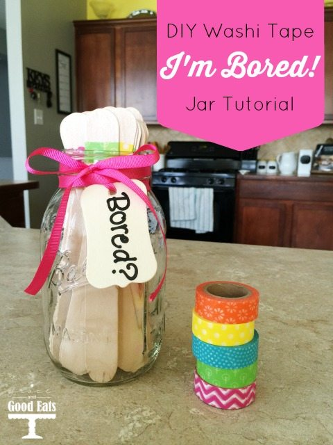 Diy I M Bored Jar Tutorial To Keep Kids Self Entertained