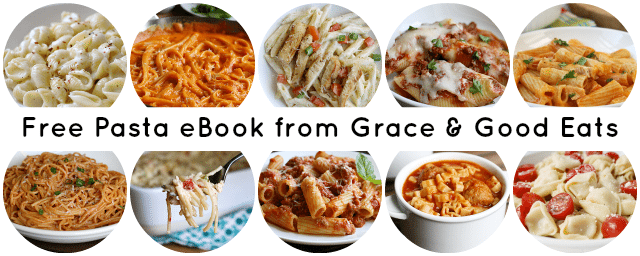 FREE Pasta eBook from Grace and Good Eats