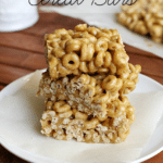 Three Ingredient Cereal Bars- perfect for the lunchbox!