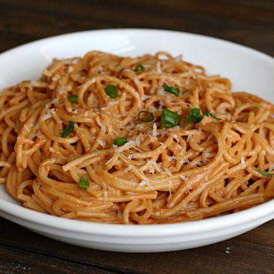 """Leftover"" Spaghetti for One"