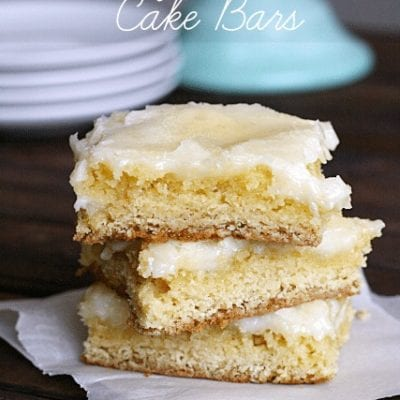 Gooey Butter Cake Bars