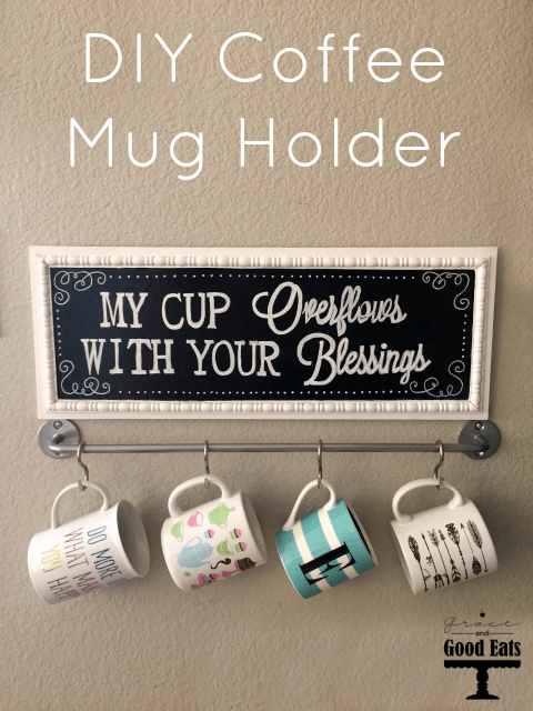 diy coffee mug holder