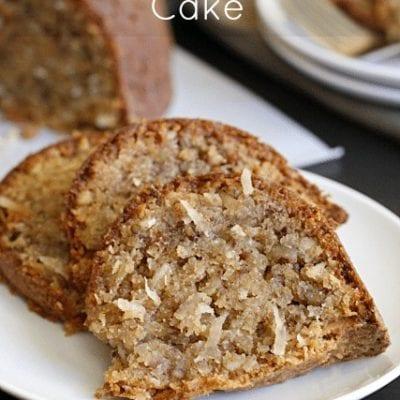 Coconut Crumb Cake aka Vanilla Wafer Cake