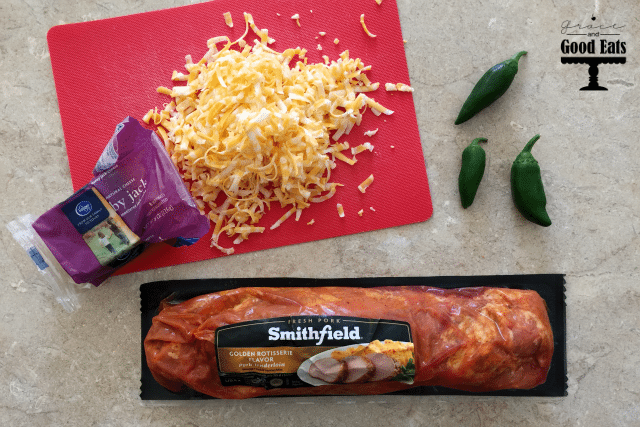 Cheesy Jalapeno Stuffed Pork- an easy weeknight dinner!