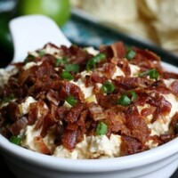This cheddar bacon corn dip is the perfect appetizer! So addicting and full of delicious flavors!