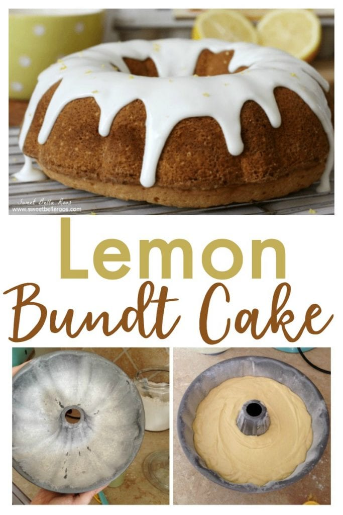 This Lemon Bundt Cake is the perfect combination of slightly sweet pound cake with a thick drizzle of lemon glaze.  Serve for dessert or Easter brunch!